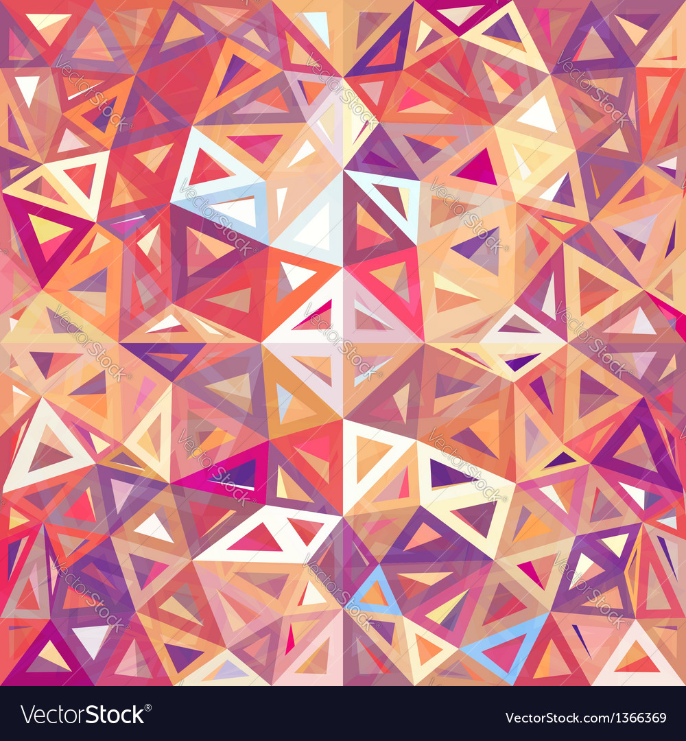 Mottled abstract triangles background vector | Price: 1 Credit (USD $1)
