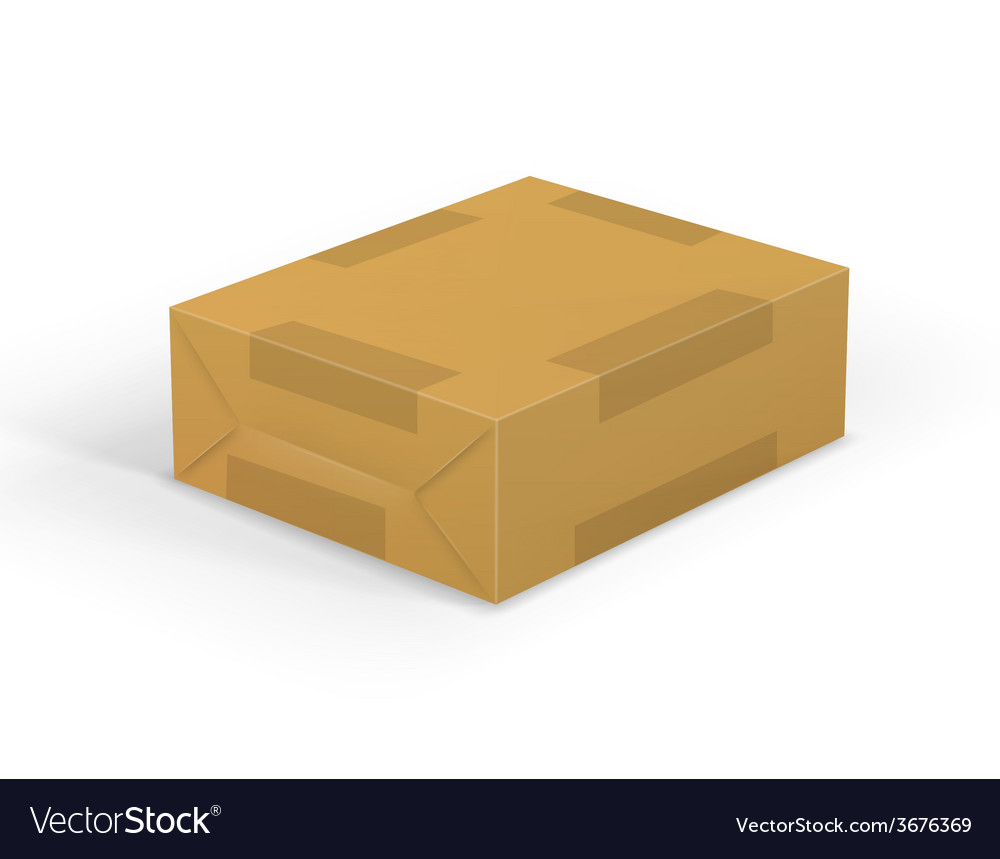 Parcel vector | Price: 1 Credit (USD $1)