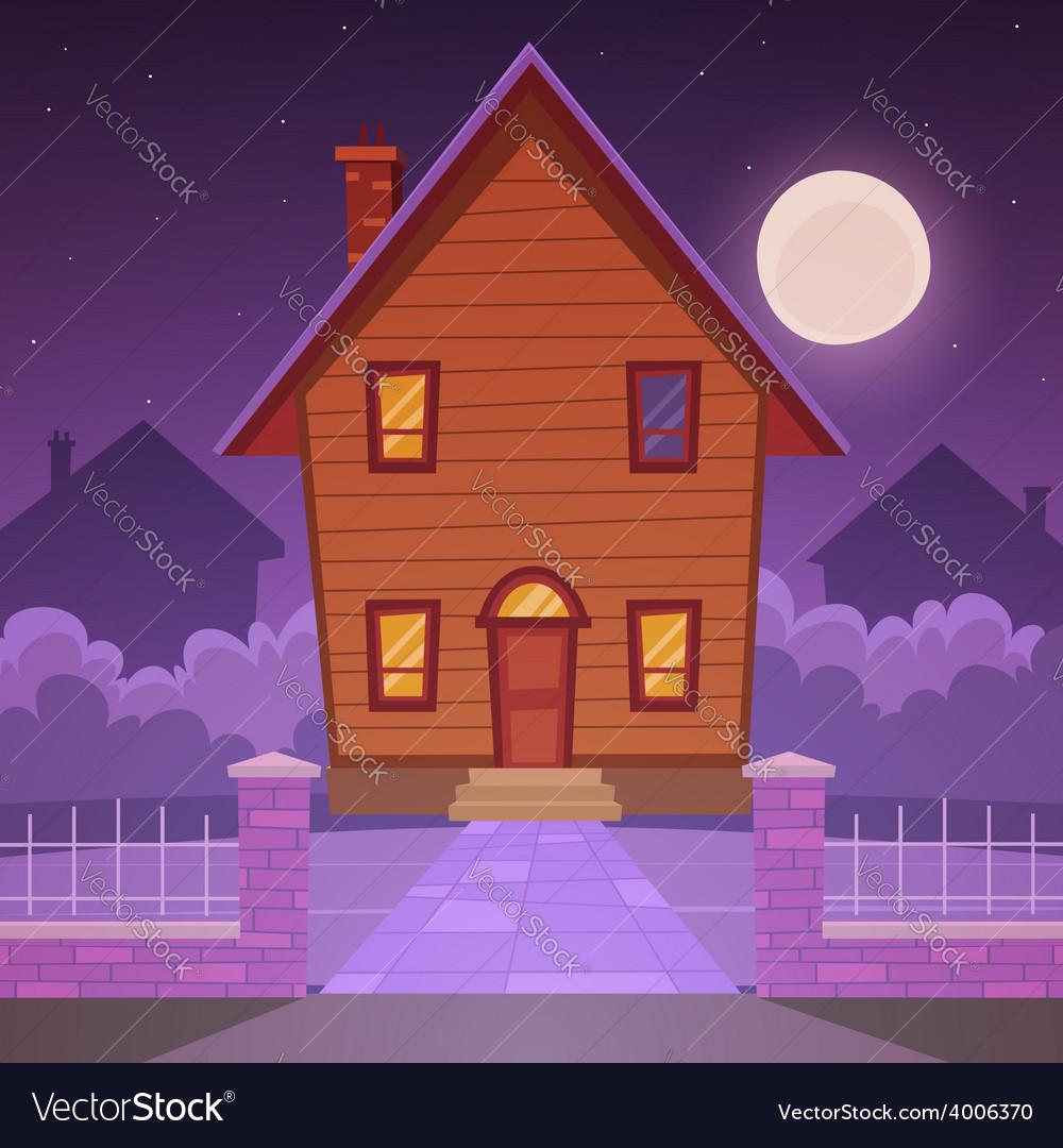 Cartoon house vector | Price: 5 Credit (USD $5)