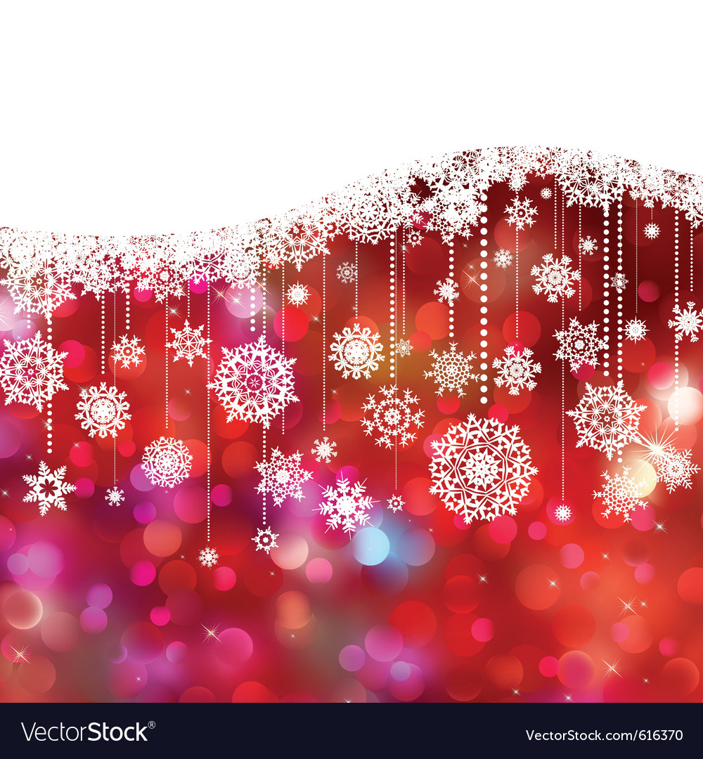 Christmas card decoration vector | Price: 1 Credit (USD $1)