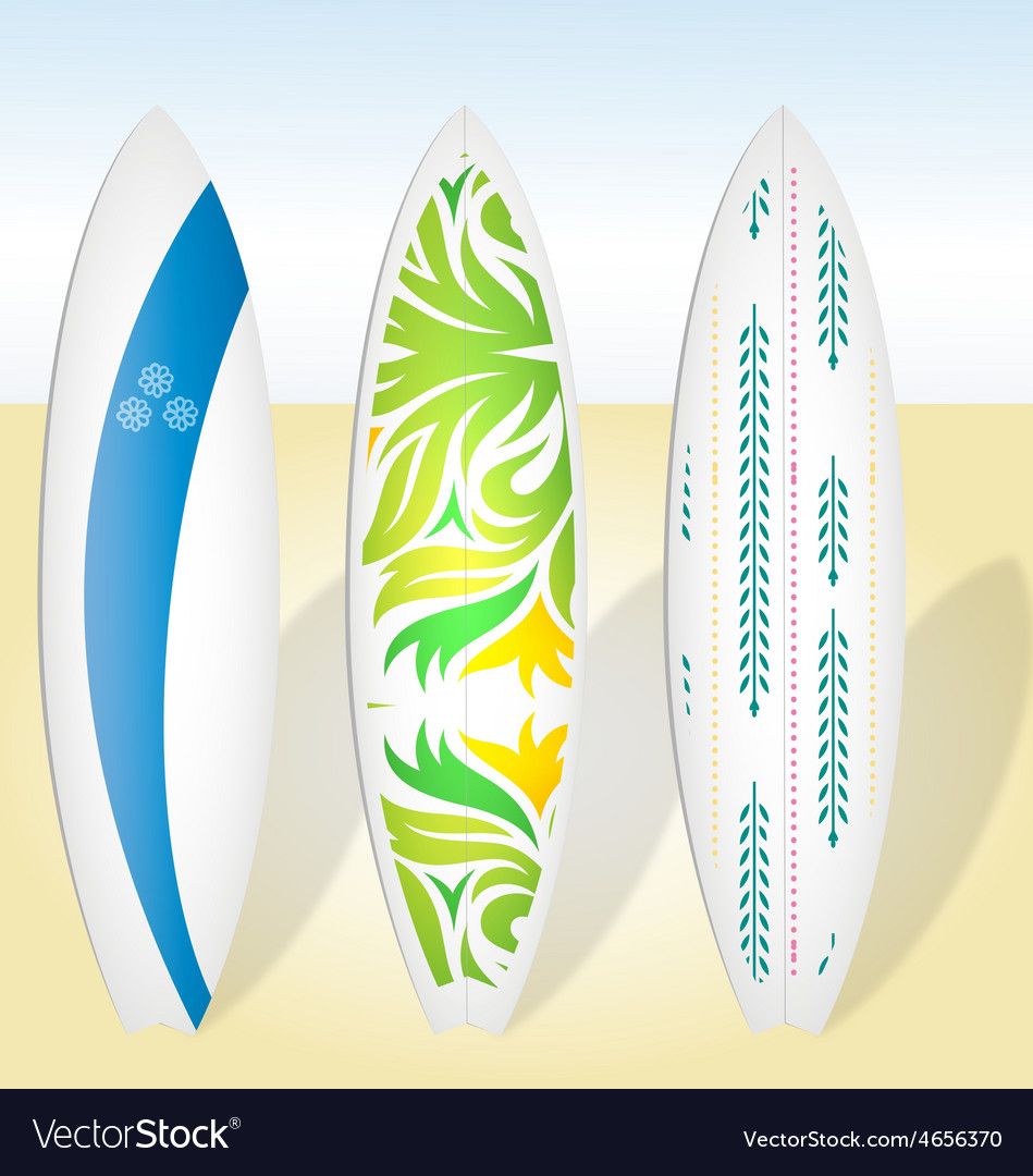Surfboards surf boards surfing boards vector | Price: 1 Credit (USD $1)
