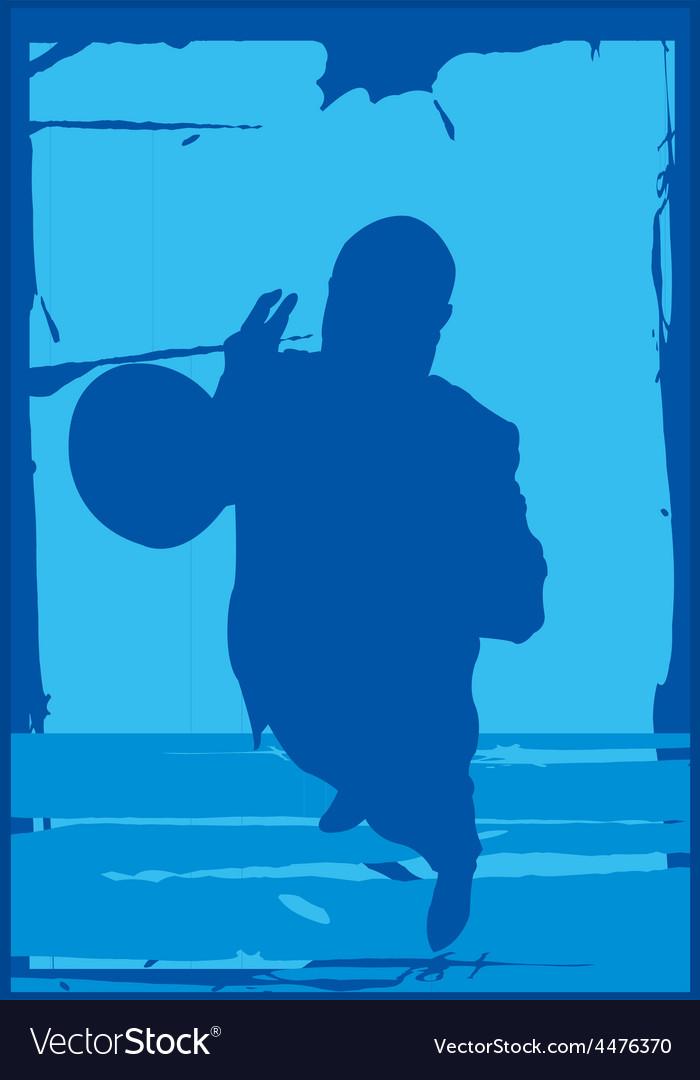 Trumpet player vector | Price: 1 Credit (USD $1)