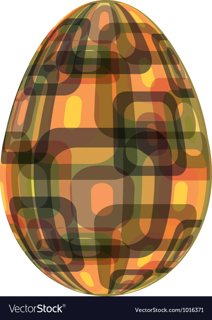 Fine painted egg designed for easter vector | Price: 1 Credit (USD $1)
