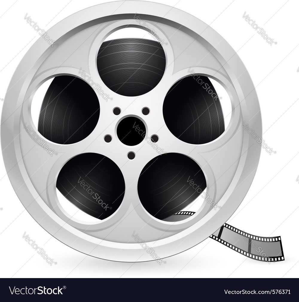 Reel of film vector | Price: 1 Credit (USD $1)