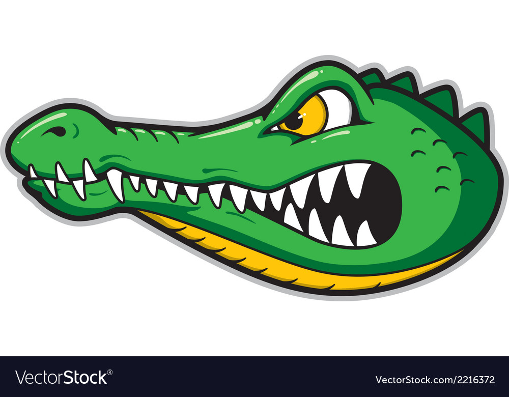 Gators mascot vector | Price: 1 Credit (USD $1)