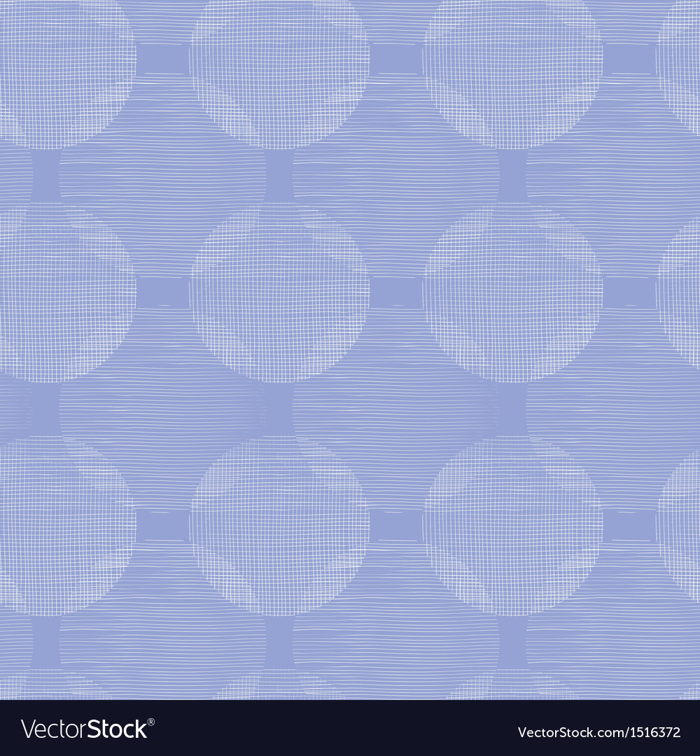 Purple textile circles seamless patter background vector | Price: 1 Credit (USD $1)