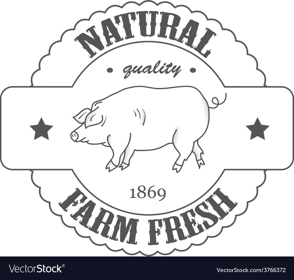 Quality farm fresh vector | Price: 1 Credit (USD $1)