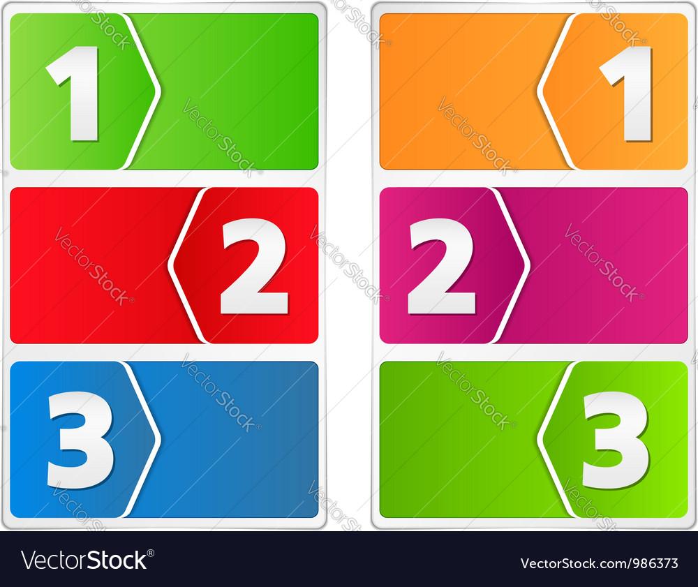 1399 - banners progress 1 4 1 vector | Price: 1 Credit (USD $1)