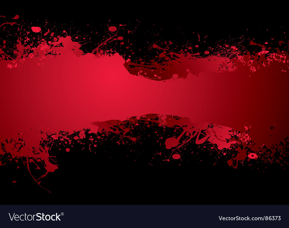 Blood banner vector | Price: 1 Credit (USD $1)