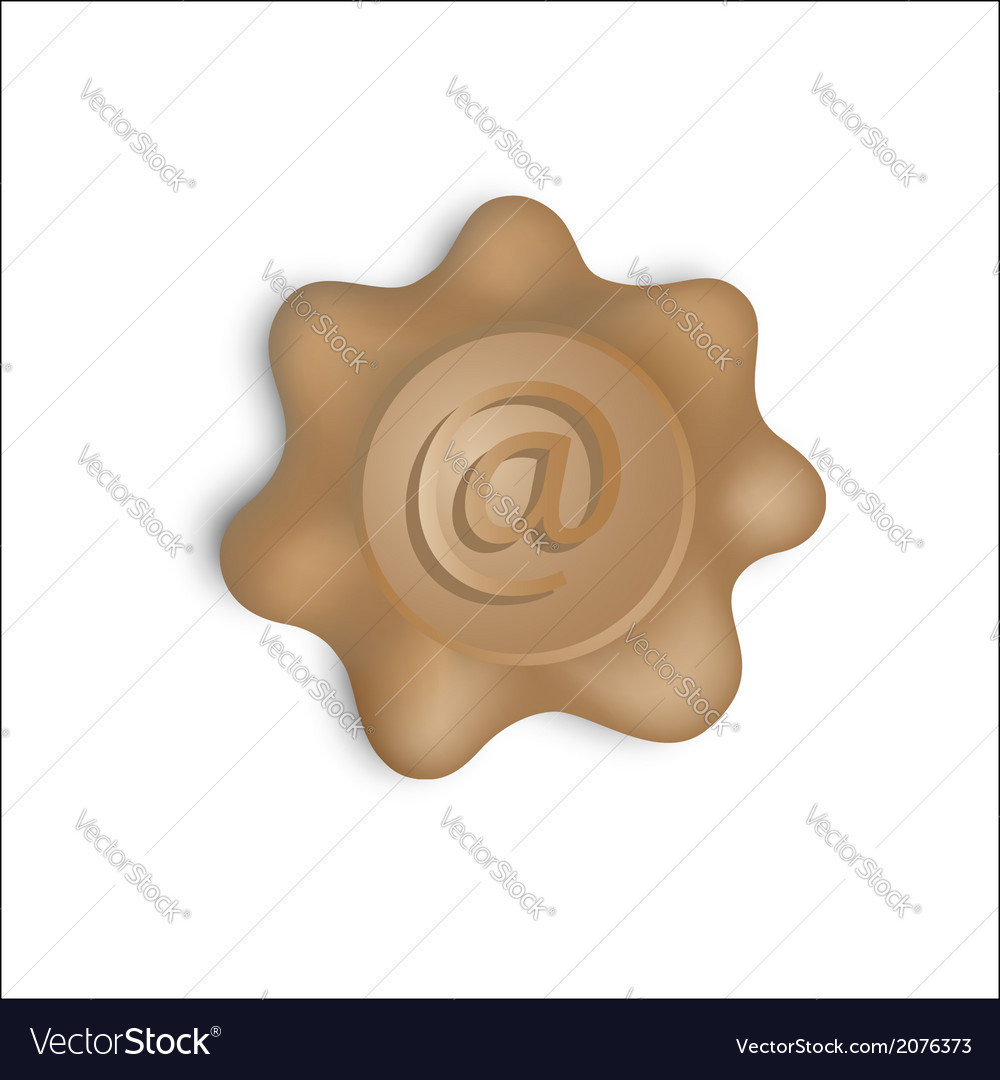 Email stamp vector | Price: 1 Credit (USD $1)