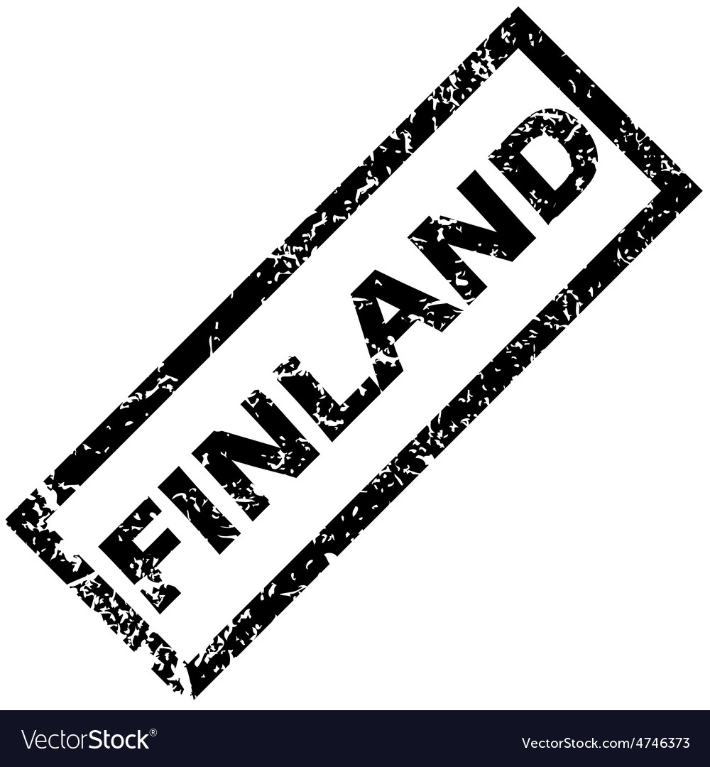 Finland stamp vector | Price: 1 Credit (USD $1)
