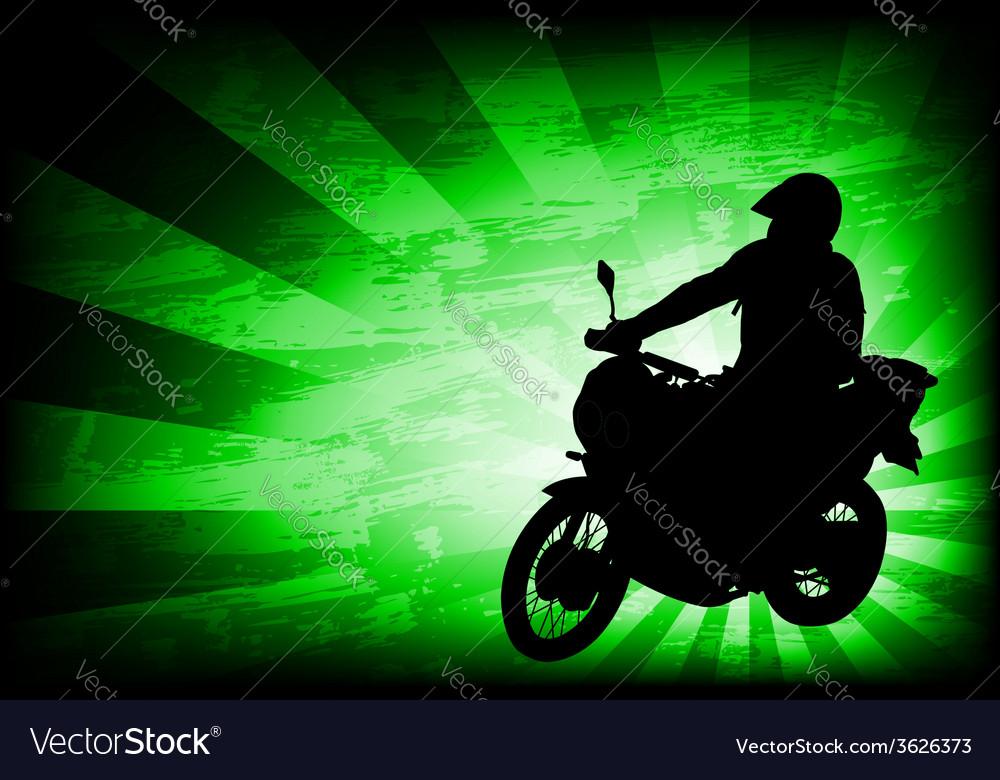 Motorcyclist background 4 vector | Price: 1 Credit (USD $1)