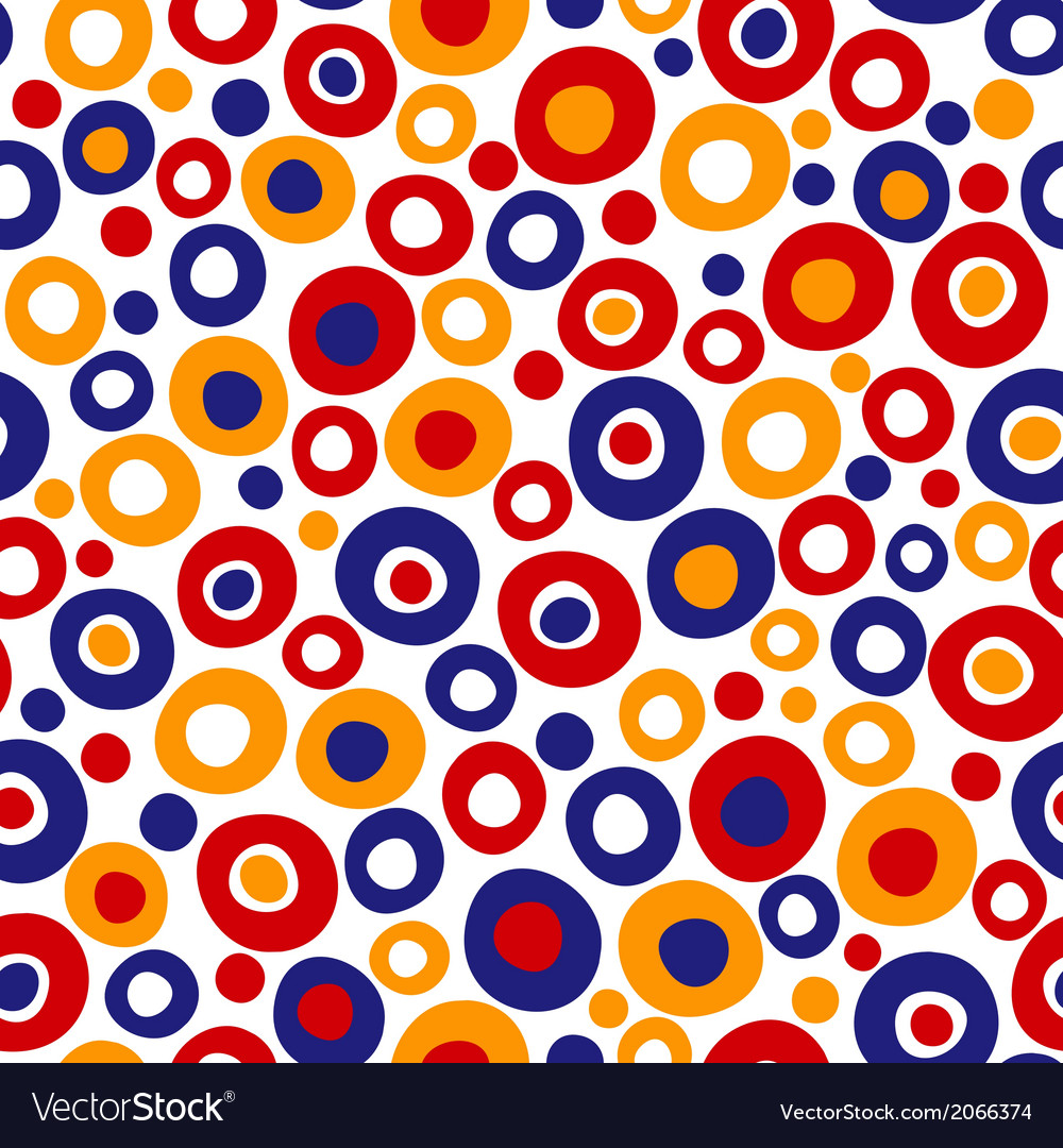 Abstract seamless texture colorful endless pattern vector | Price: 1 Credit (USD $1)