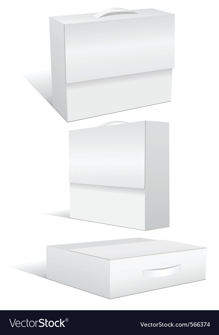 Blank case or box vector | Price: 1 Credit (USD $1)