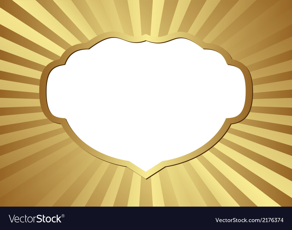 Golden background vector | Price: 1 Credit (USD $1)