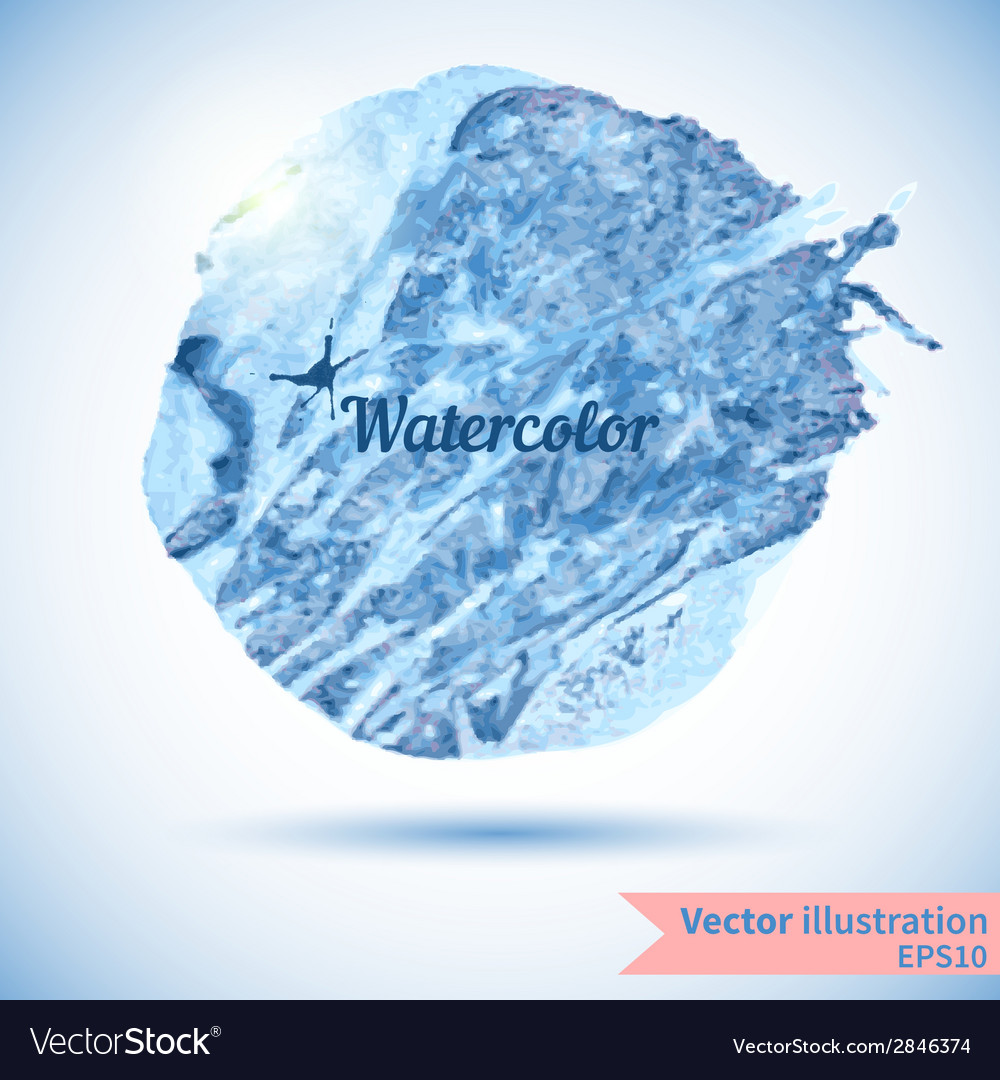Watercolor design element for the realization vector | Price: 1 Credit (USD $1)