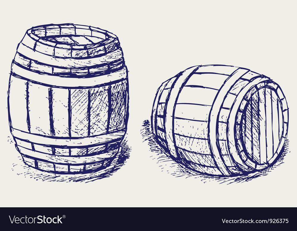 Beer barrels vector | Price: 1 Credit (USD $1)