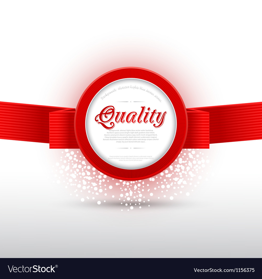 Red banner vector | Price: 1 Credit (USD $1)