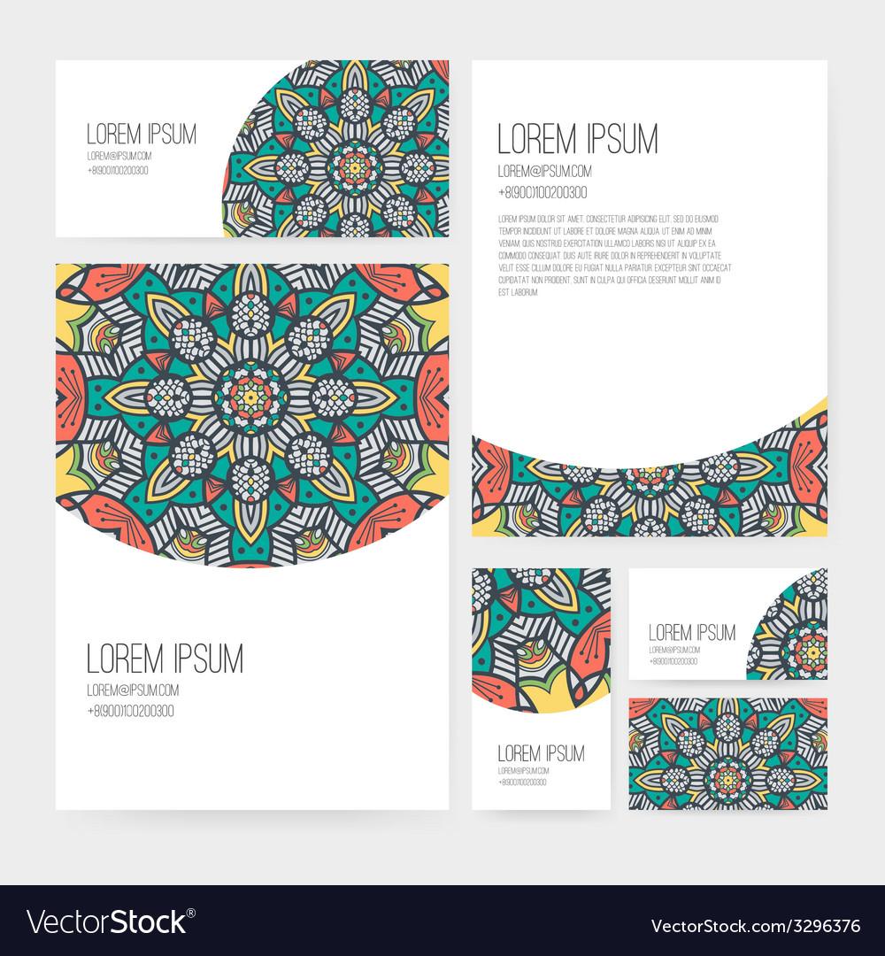 Presentation kit vector | Price: 1 Credit (USD $1)