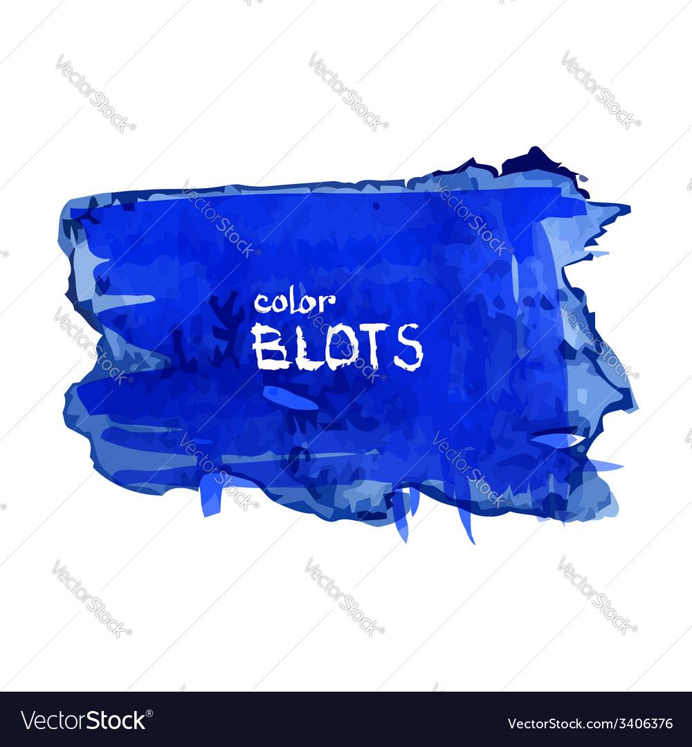 Watercolor blot vector | Price: 1 Credit (USD $1)