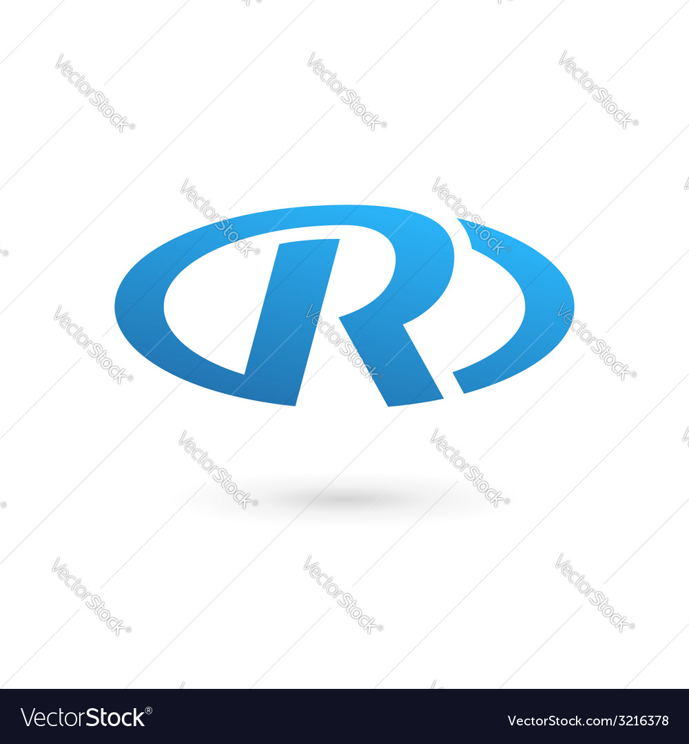 Letter r logo icon design template elements vector | Price: 1 Credit (USD $1)