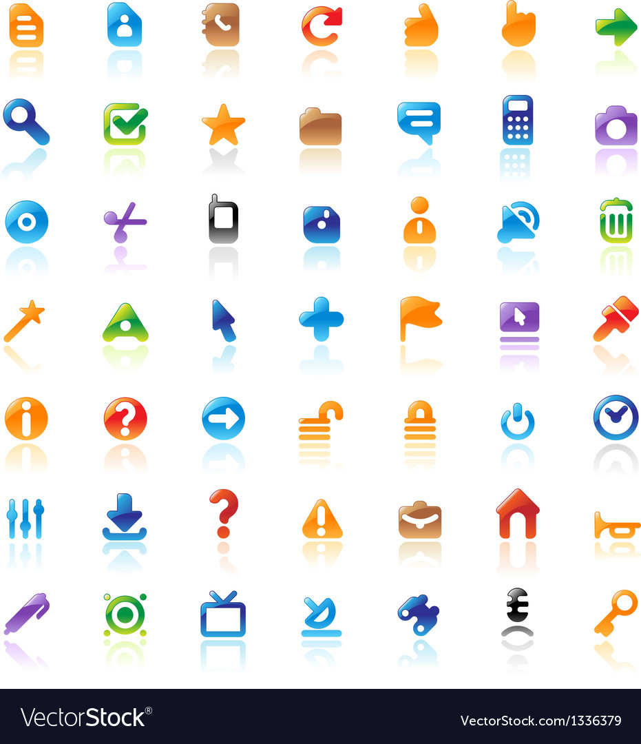 Perfect icons for interface vector | Price: 1 Credit (USD $1)
