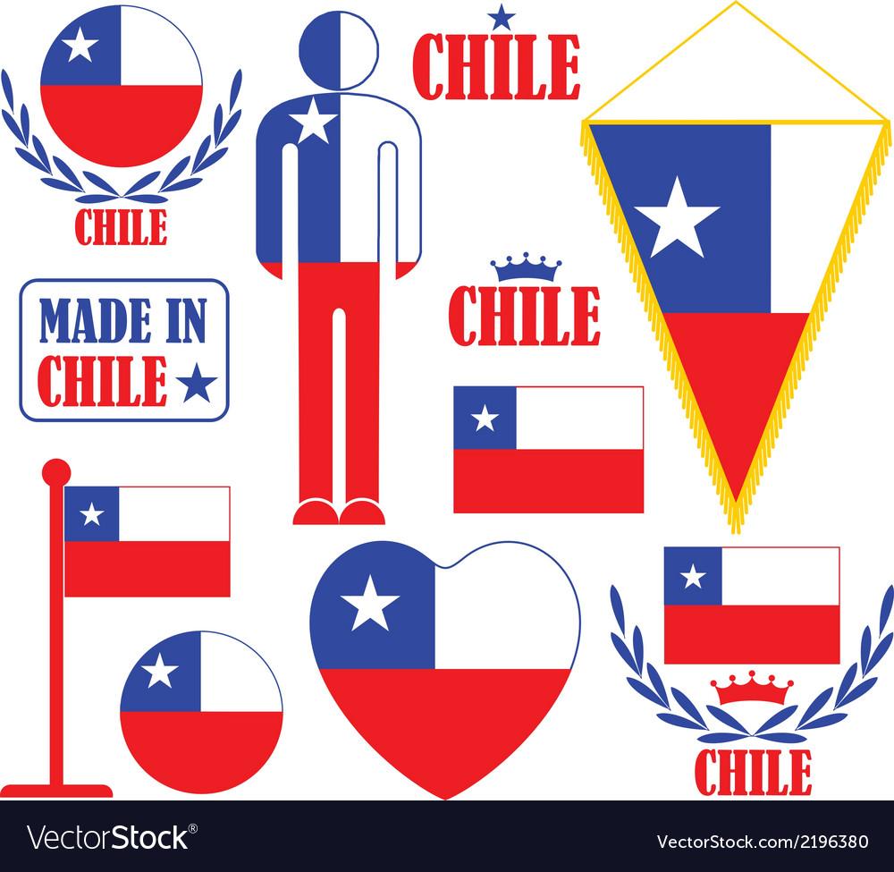Chile vector | Price: 1 Credit (USD $1)