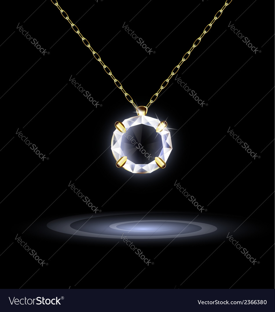 Darkness and jewelry pendant vector | Price: 1 Credit (USD $1)