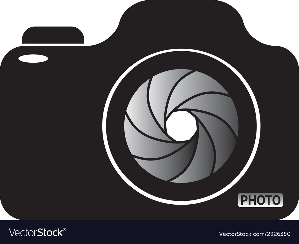 Photocamera vector | Price: 1 Credit (USD $1)