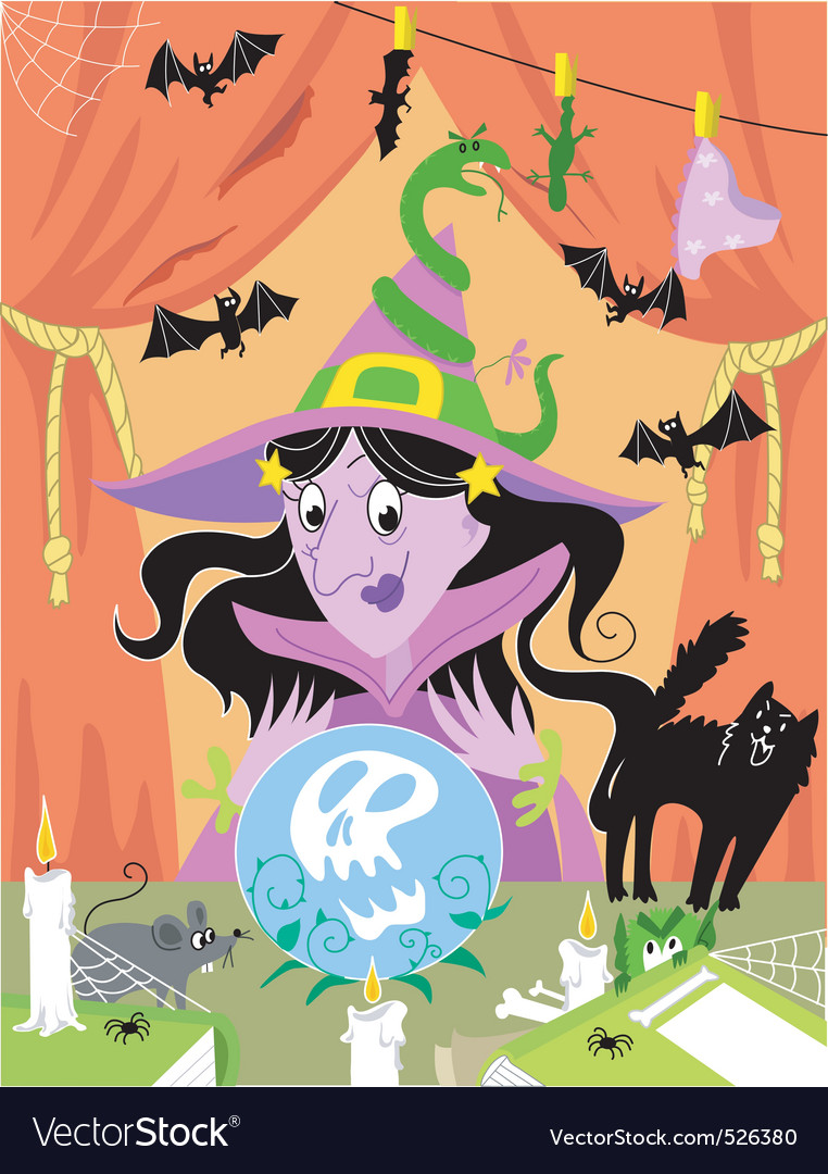 Witch2 vector | Price: 3 Credit (USD $3)