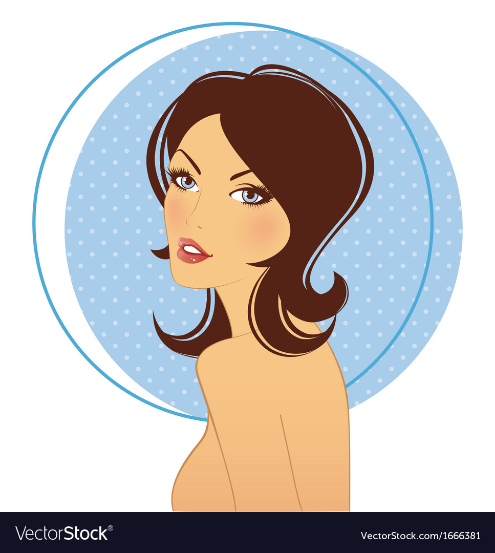 Beautiful woman vector   Price: 1 Credit (USD $1)