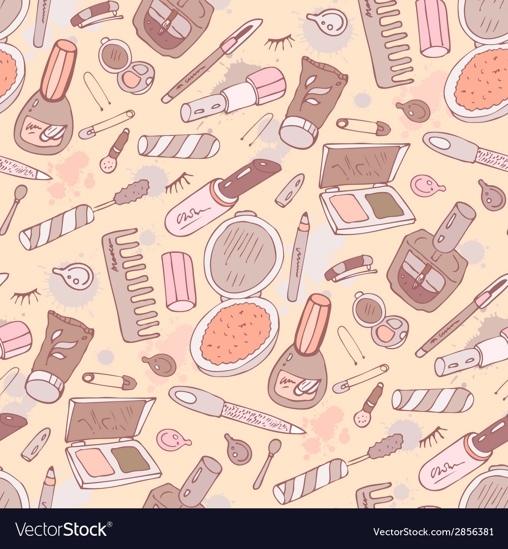 Beauty products cosmetics vector | Price: 1 Credit (USD $1)