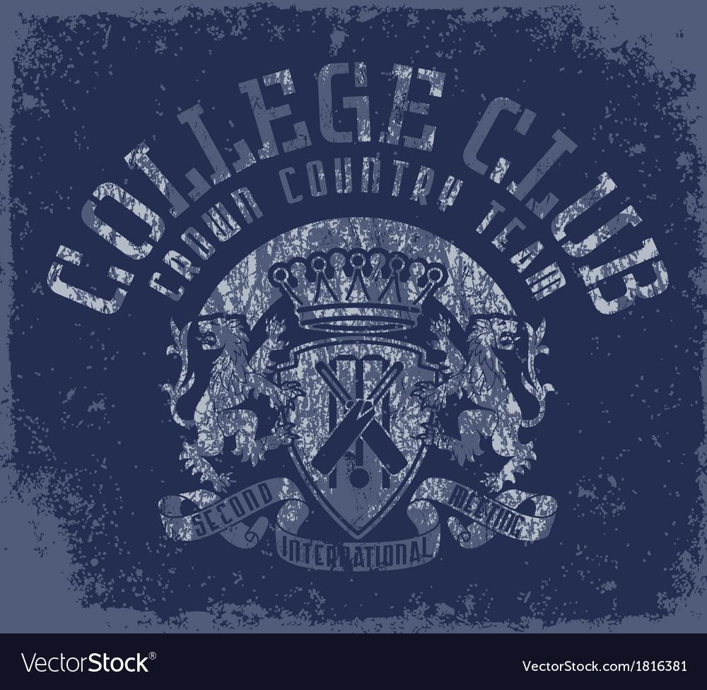 Collegeclub vector | Price: 1 Credit (USD $1)