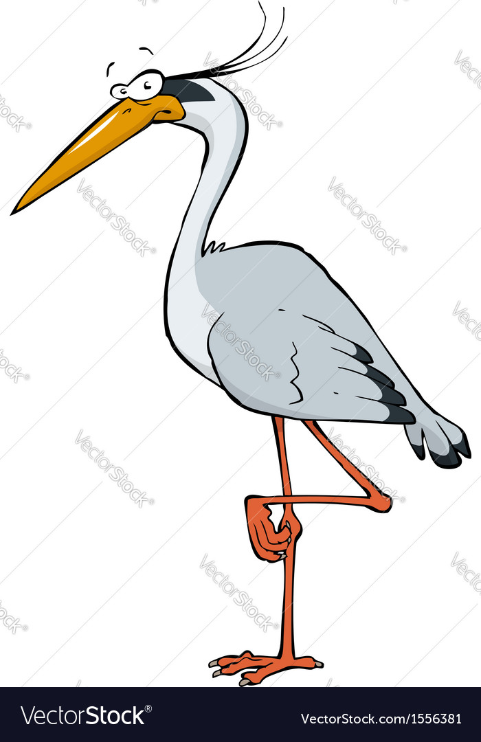 Heron vector | Price: 1 Credit (USD $1)