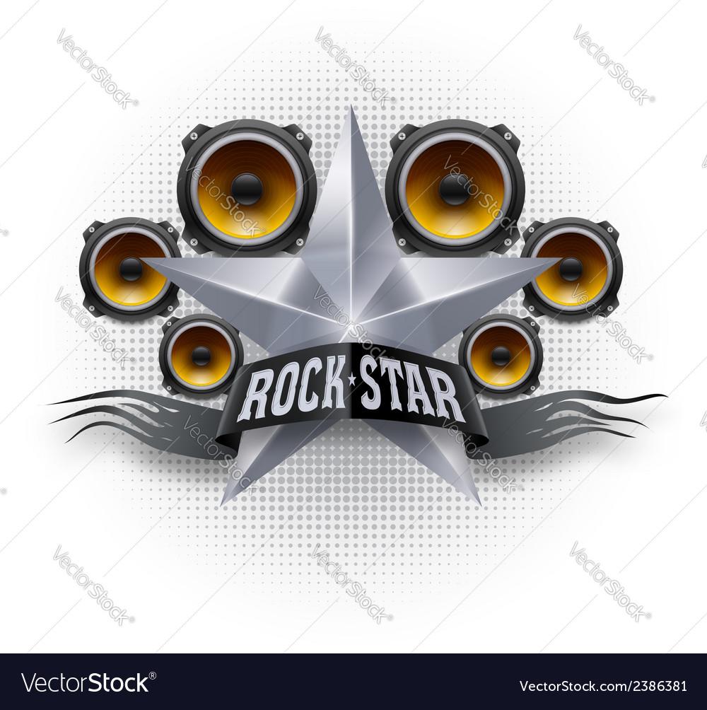 Rock star vector | Price: 1 Credit (USD $1)