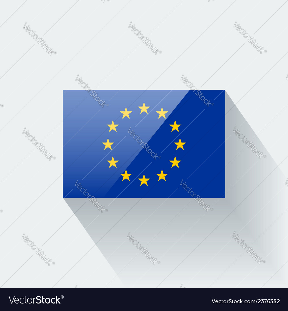 Flag of european union vector | Price: 1 Credit (USD $1)