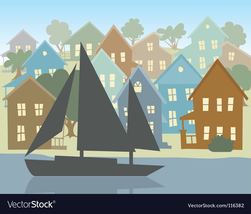 Going sailing vector | Price: 1 Credit (USD $1)