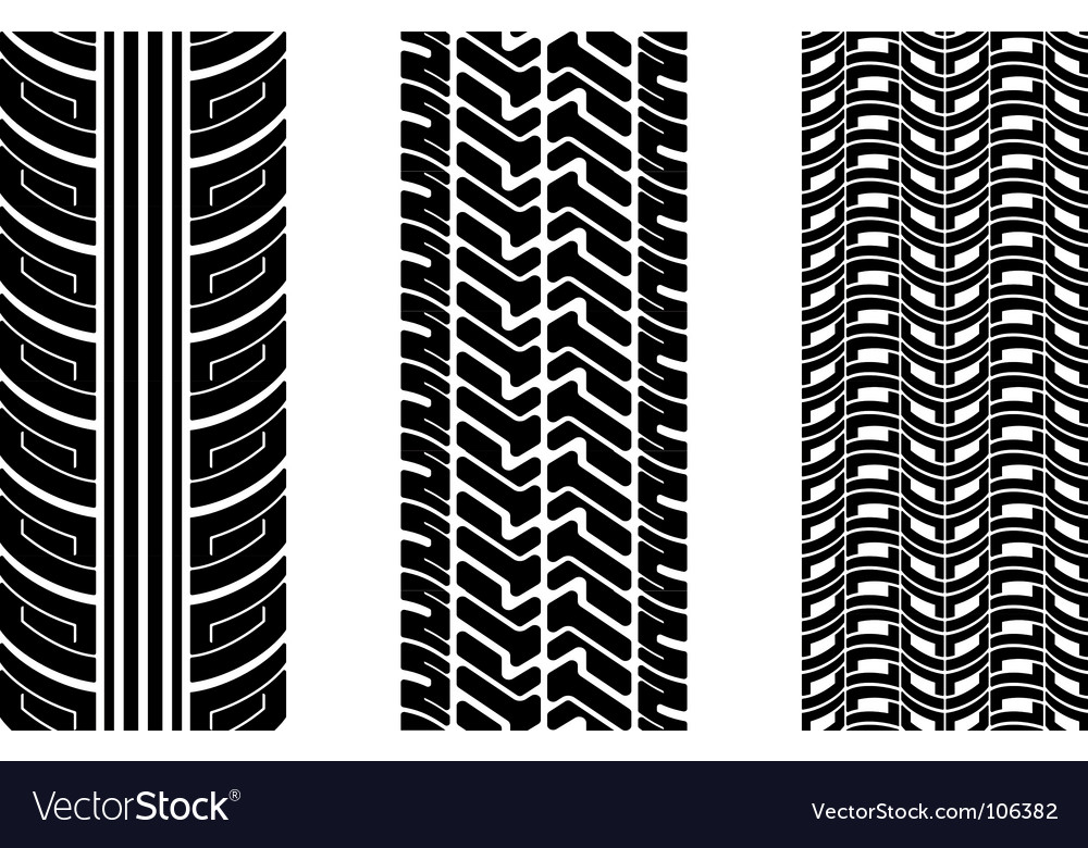 Tire tread vector | Price: 1 Credit (USD $1)