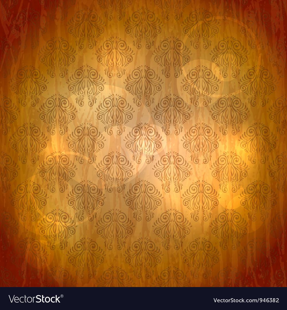 Vintage filigree wallpaper vector | Price: 1 Credit (USD $1)