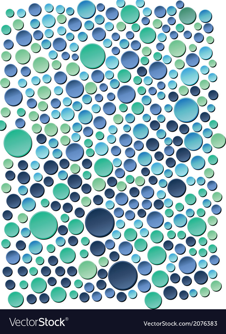Sea bubbles vector | Price: 1 Credit (USD $1)