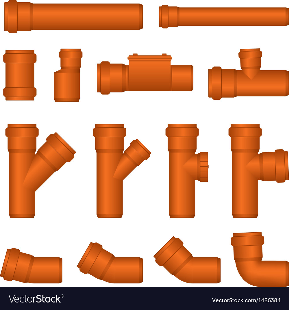 Pipes vector | Price: 1 Credit (USD $1)