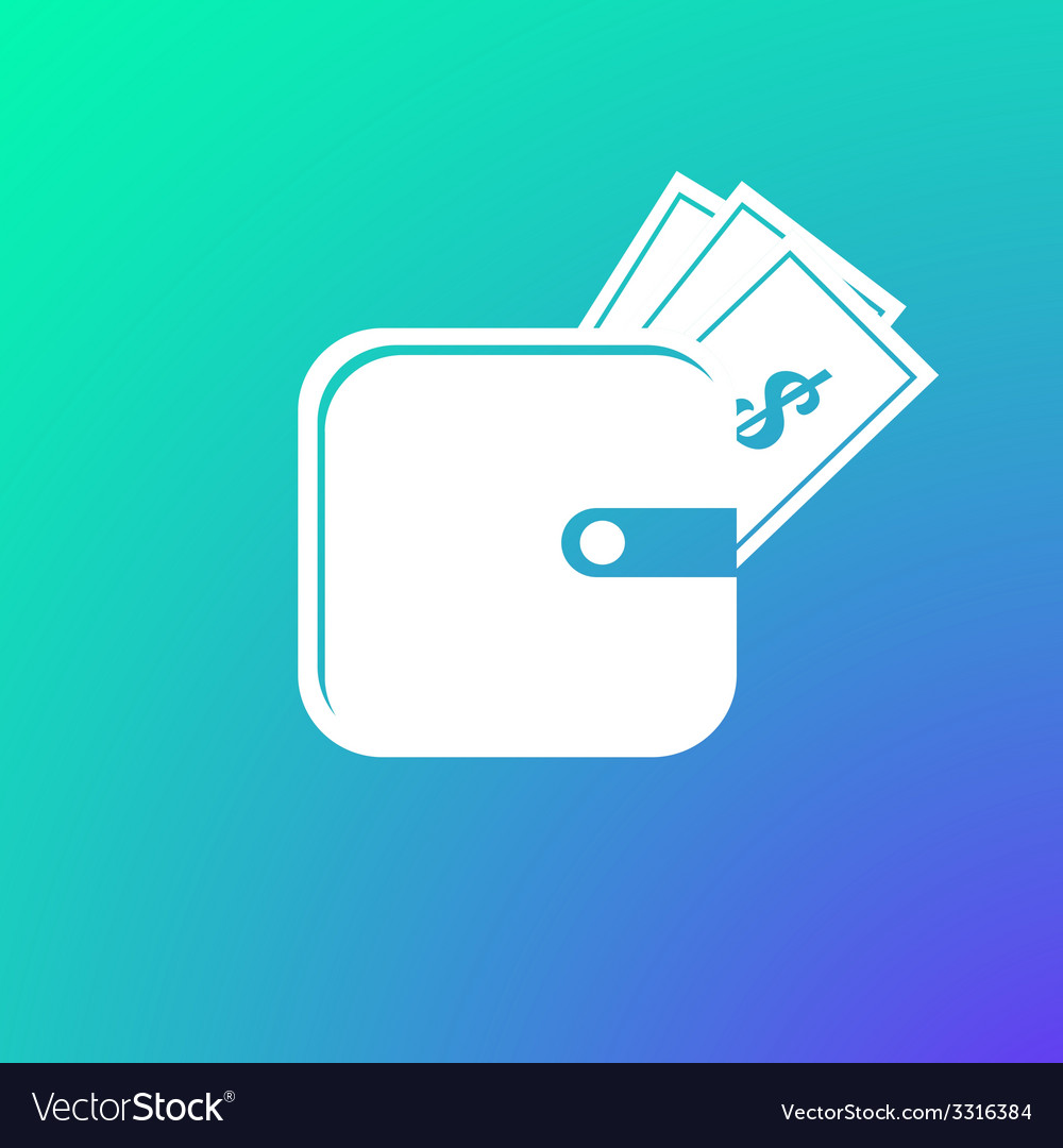 Purse icon vector | Price: 1 Credit (USD $1)