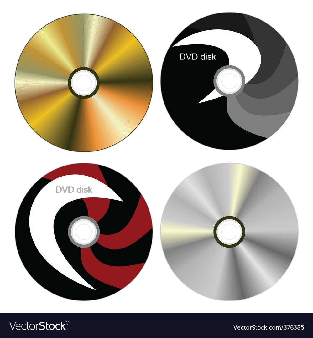 Dvd disk with both side vector | Price: 1 Credit (USD $1)