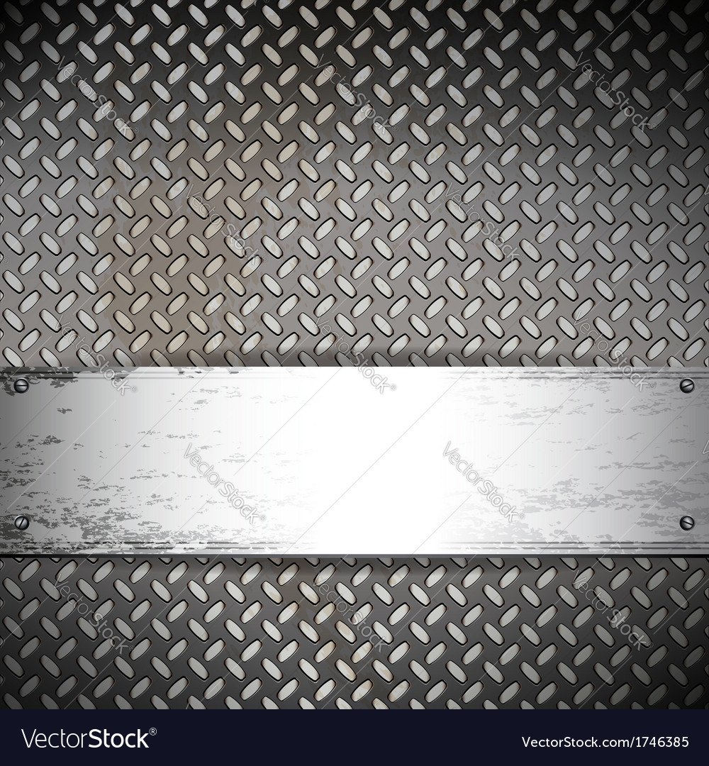 Fluted metal background vector | Price: 1 Credit (USD $1)