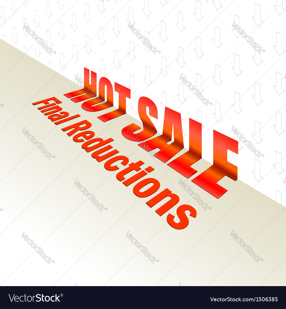 Hot sale design for your design vector | Price: 1 Credit (USD $1)