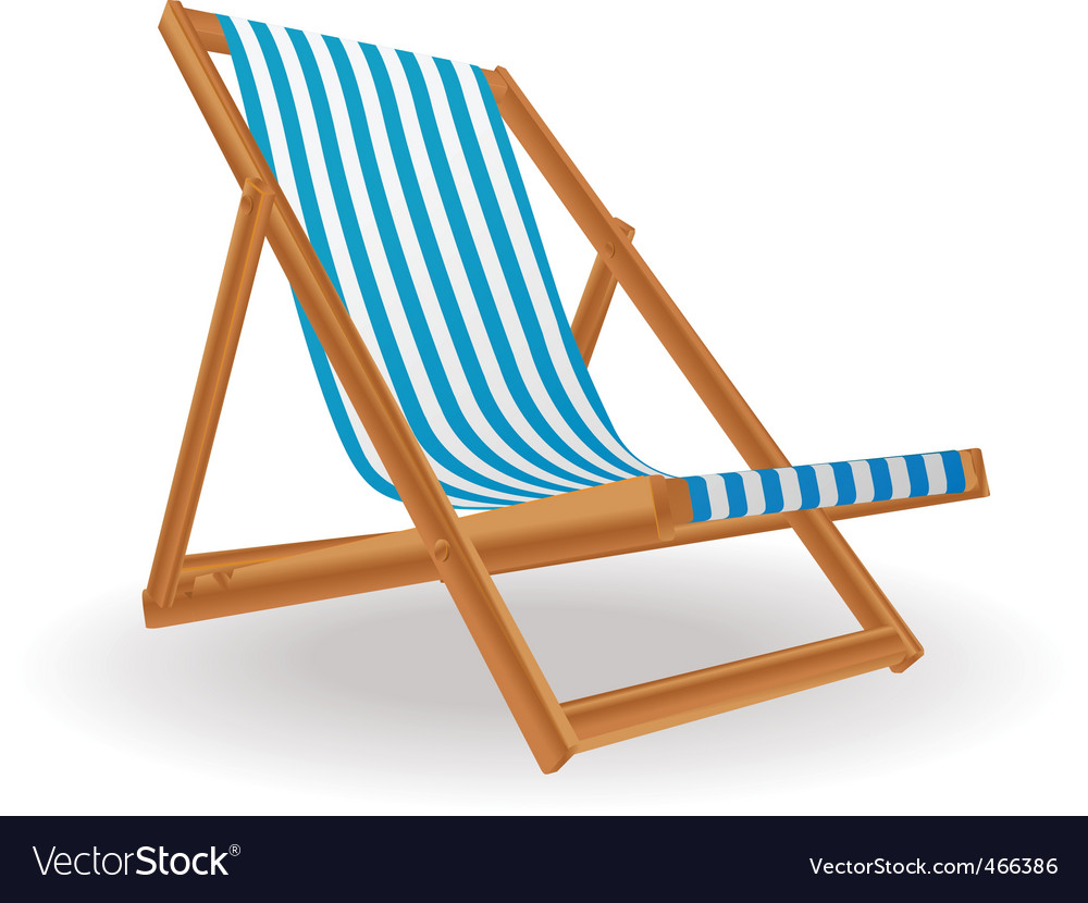 Chaise lounge vector   Price: 1 Credit (USD $1)