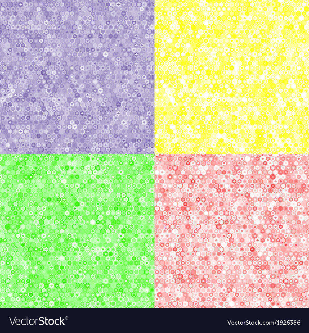 Colored texture of hexagons vector | Price: 1 Credit (USD $1)
