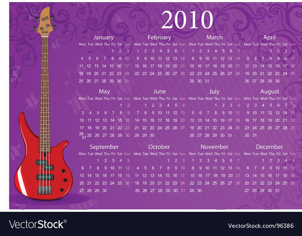 European calendar vector   Price: 1 Credit (USD $1)