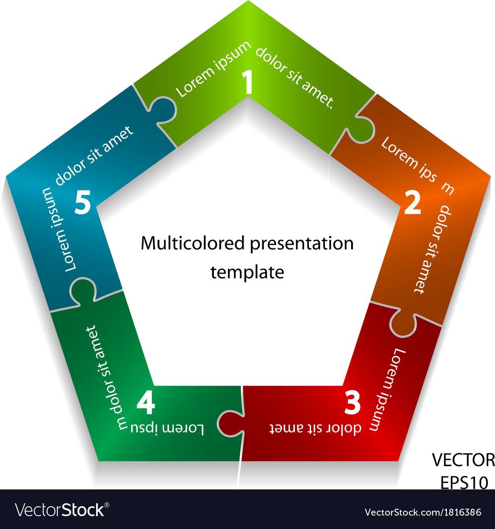 Presentation template vector | Price: 1 Credit (USD $1)