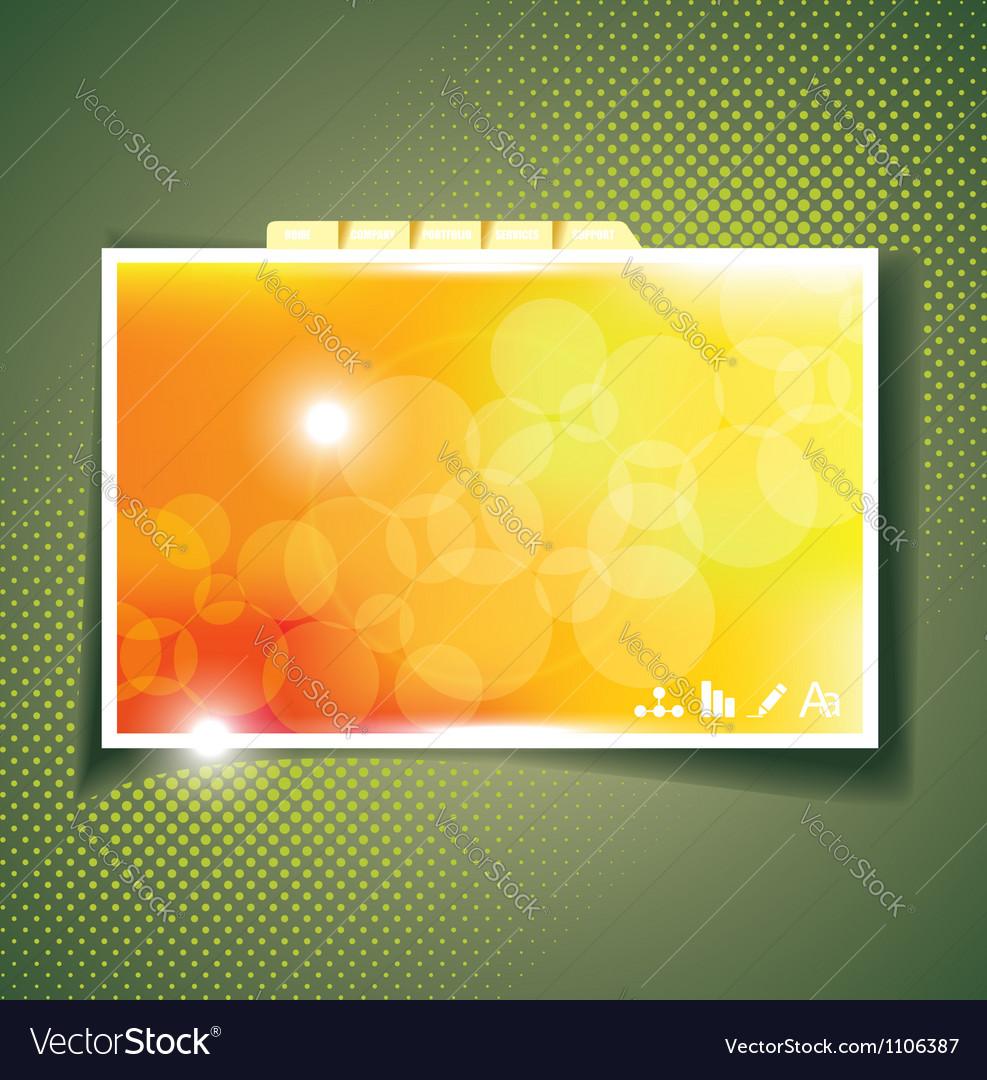 Webpage design template vector   Price: 1 Credit (USD $1)